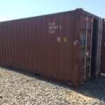 20 ft used shipping container for sale
