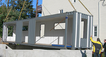 shipping container custom modifications