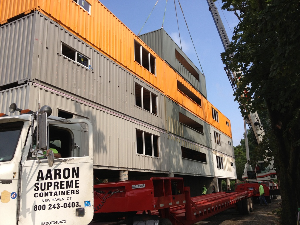Move Your Containers On Site or Another Location
